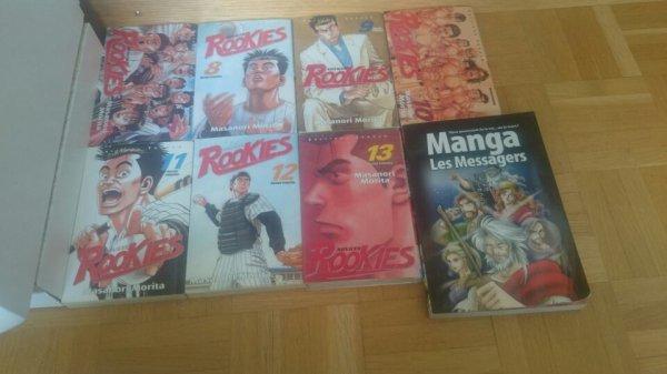 Lorsque ma mère veut me faire plaisir en achetant des mangas, j'ai le droit à...