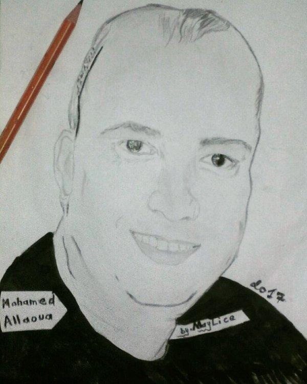 Portrait de allaoua by maylice