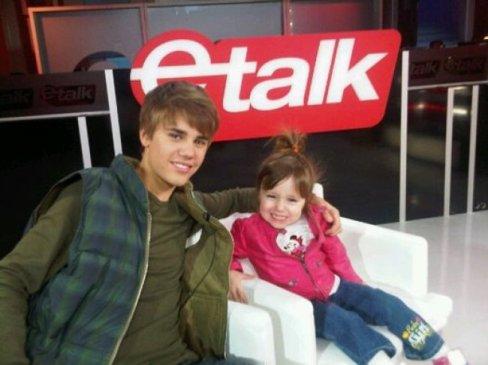 Jazmyn la petite soeur de Justin à bien grandi !