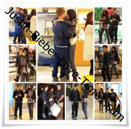In love de Justin et Selena à Beverly Hills !