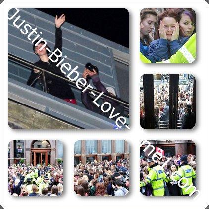 Les photos des fans surexcitées