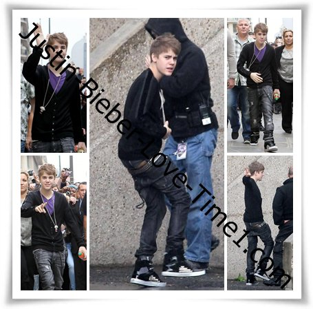 Justin perd son pantalon devant ses fans à Paris !