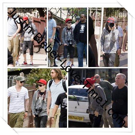 Justin fait du tourisme en Israël !