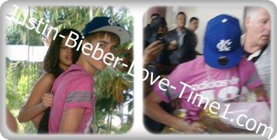 Justin en Indonésie avec Selena!