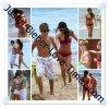 Justiin et Selene: journée entre amoureux à la plage!