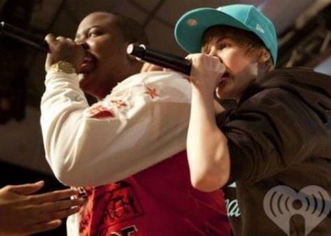 Justin soutient Sean Kingston victime d'un accident !