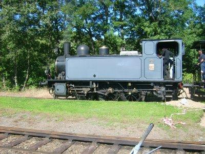 La 030 t Couillet n°1658 en gare de Burnhaupt peut avant son départ en direction de Sentheim.