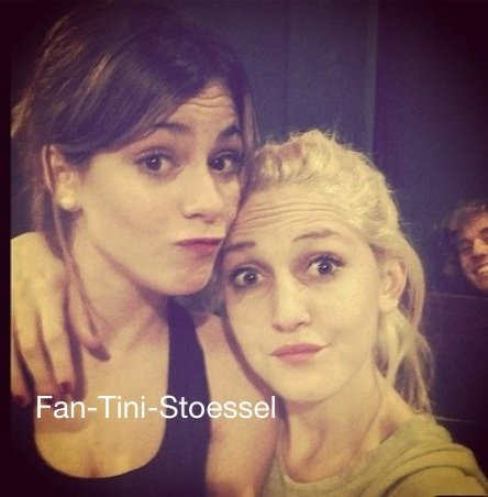 New photo de Tini et Mechi ♚♥✌ღ