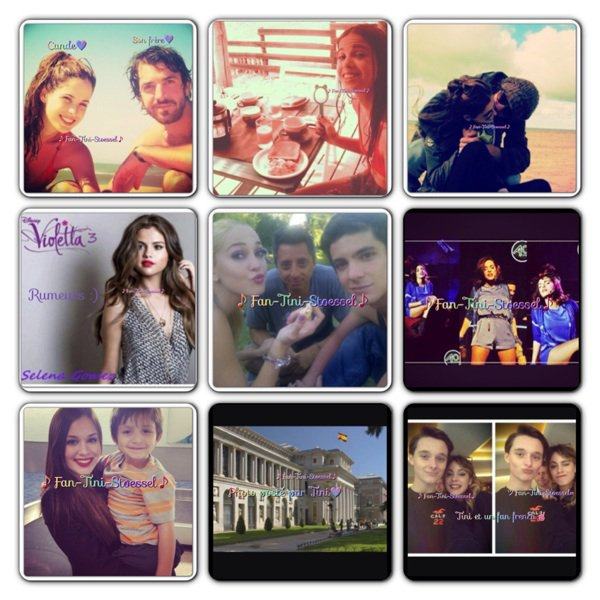 Que des news photos exclusives✌♪ツ∞+ une vidéo sur Violetta 2
