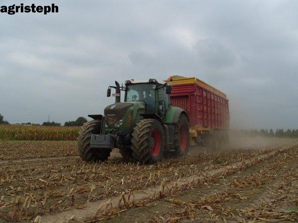 Ensilage de maïs 09 avec Vital Laschet