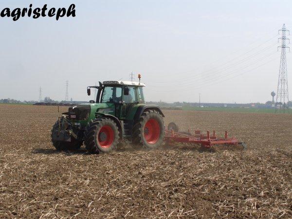 Préparation des terres chez L'Hoest