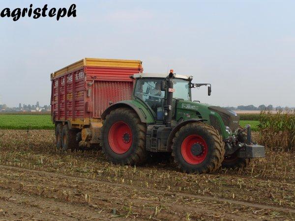 Ensilage de maïs avec Vital laschet & Fils