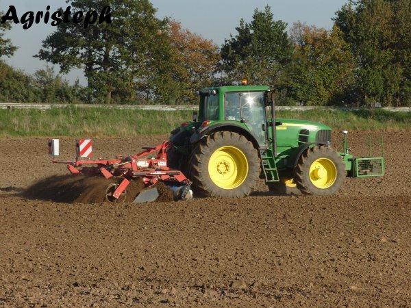 Préparation des terres chez Royer