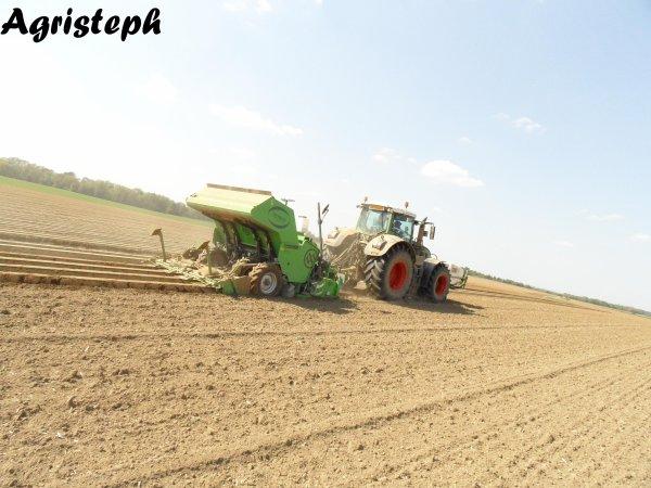 Plantations de pommes de terre par Van Hoven