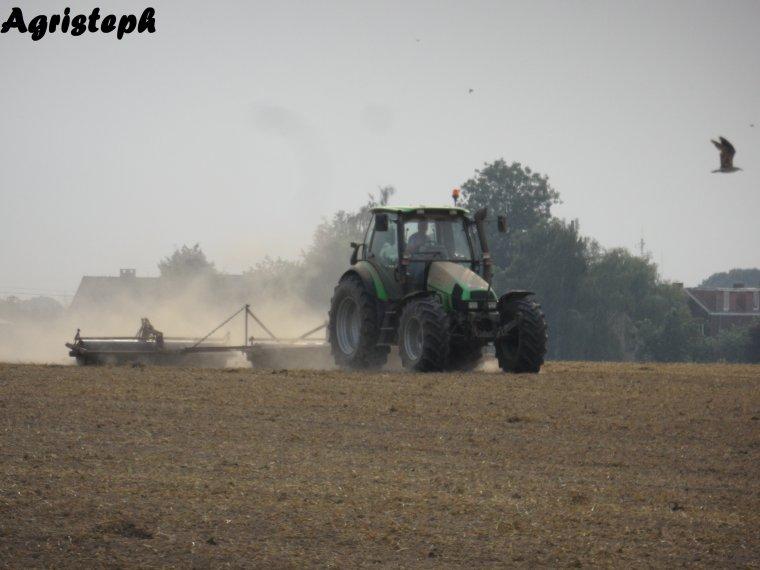 Préparations des terres et semis 2013