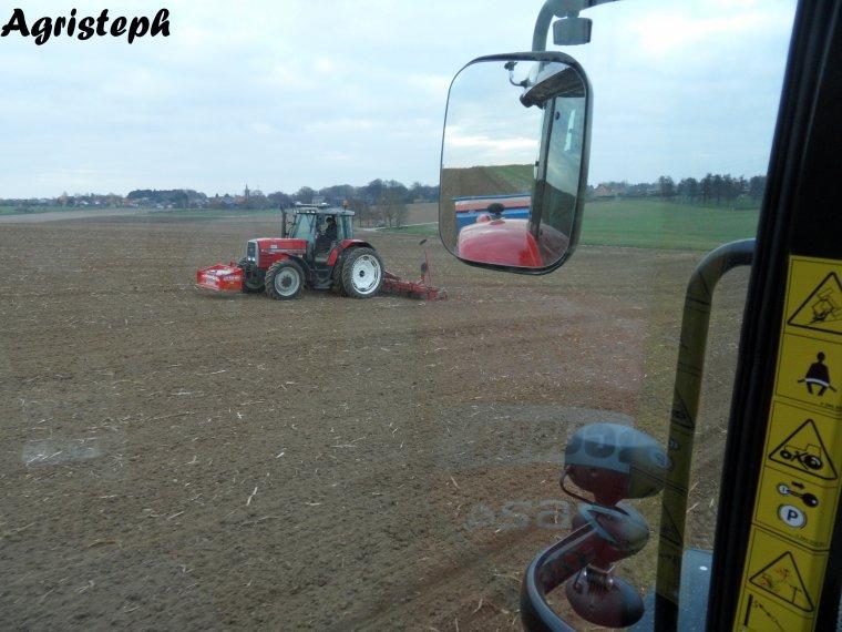 Préparation des terres pour chicorrées chez Dupuis