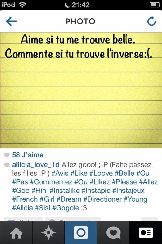 """Merci les gens! """"3 <3 (Follow me sur Instagram: aliicia_love_1d)"""