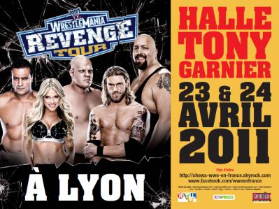 wrestlemania revenge tour à Lyon
