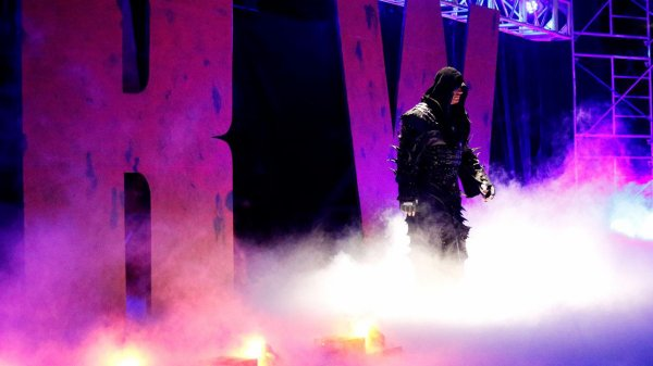 Taker de retour, son prochain match officiel!