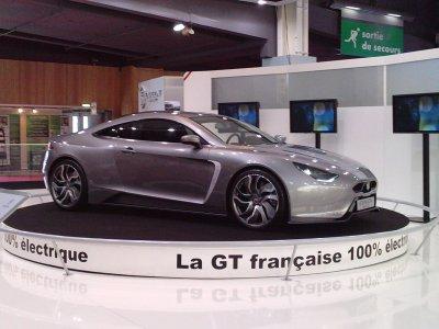 salon auto 2010 GT Français Exagone