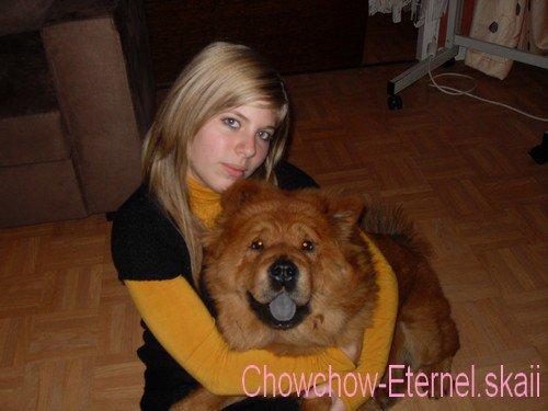 .. •  [ Chowchow-Eternel.skaii ]  •  ~>  Siara & Moi  <~                   •  [ Chowchow-Eternel.skaii ]  • ..