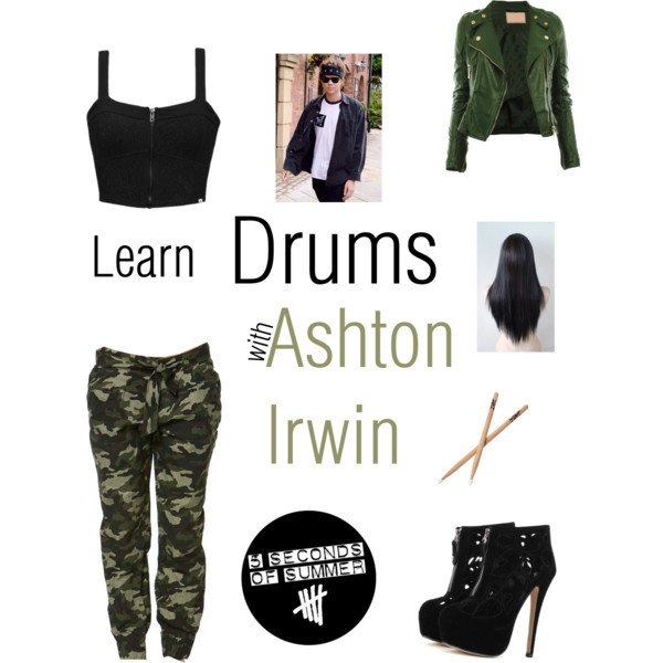 Tenue: ''Learn Drums with Ashton Irwin N°2''