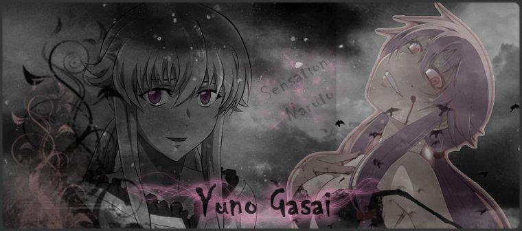 Yuno Gasai - Mirai Nikki