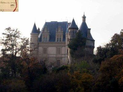 La description du château Regis celui du compte Jean de X Colonel au Premier Cuirassier faite par Marcel