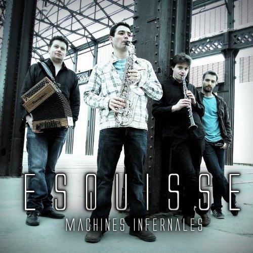 "Cd 62 : ESQUISSE  "" Machines  infernales ""  ( Aremorica records )"