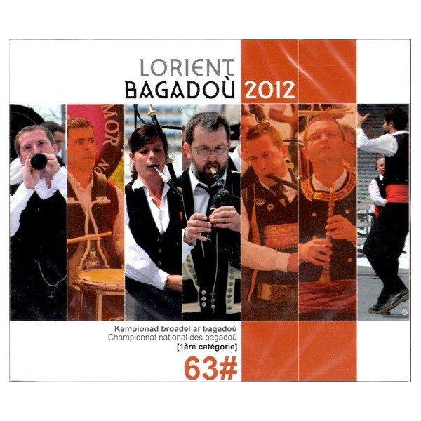 Cd 76 :  LORIENT  BAGADOU  2012  ( Coop Breizh )