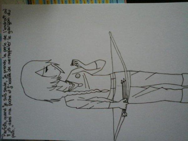 C'est moi qui ai dessiné (Laïla)