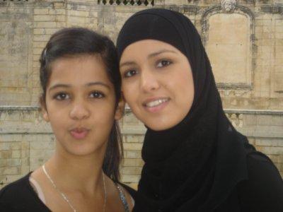 moi et ma petite sister!!!!