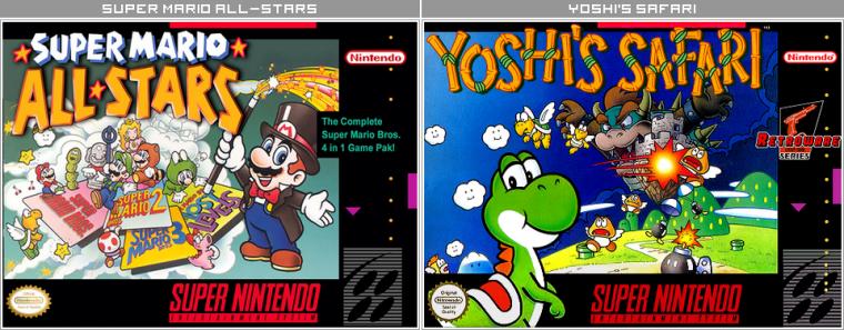 Couvertures / Cover Jeux Mario HD : Super Nintendo