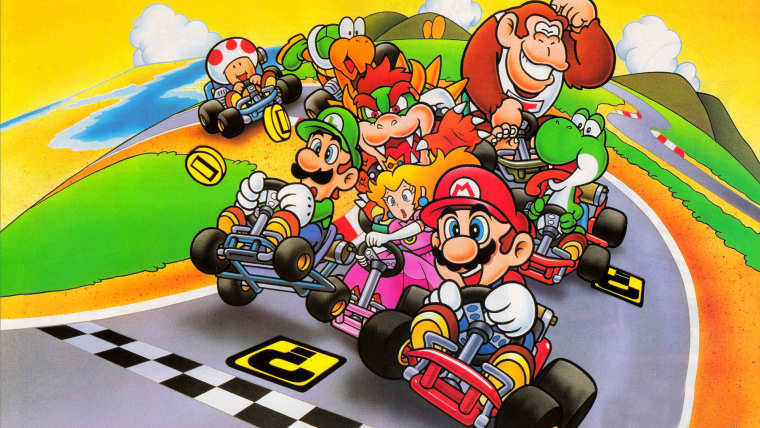 Intervalles des Sorties Mario Kart