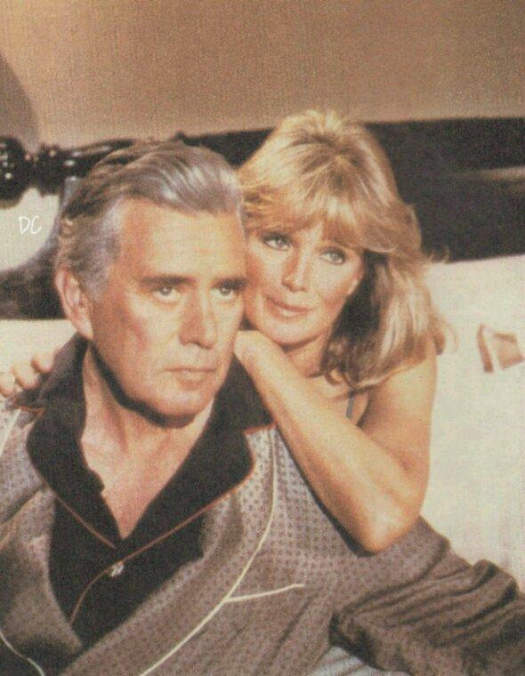 Blake et krystle Carrington version années 80