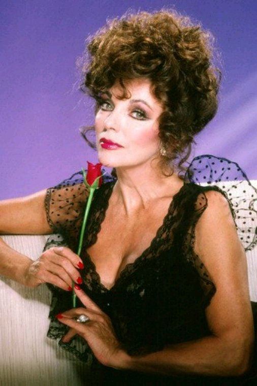 Portrait Joan Collins Alexis Carrington Colby