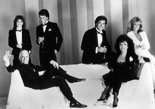 Fallon 1, Adam, Blake, Jeff, Krystle et Alexis version années 80