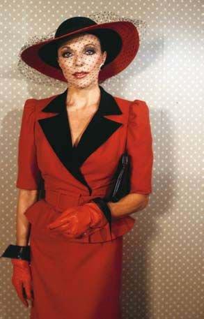 Joan Collins Alexis des années 80