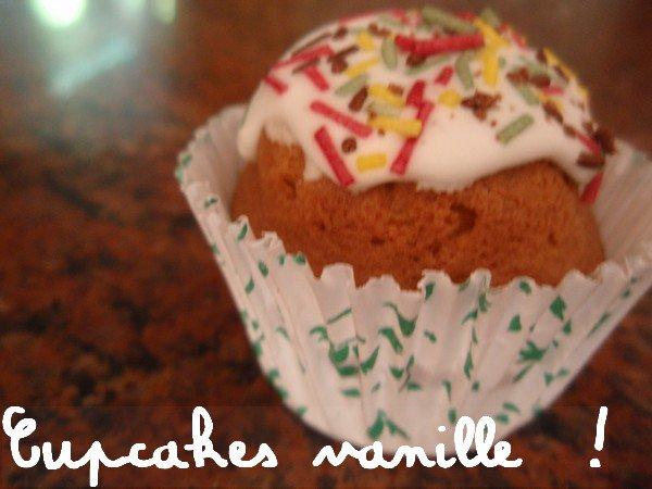 Les cupcakes a la Vanille