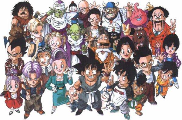 Dragon Ball, Dragon Ball Z et dragon Ball GT