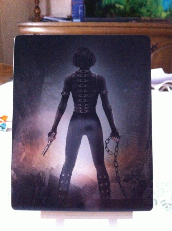 Resident Evil Retribution 3D (steelbook)