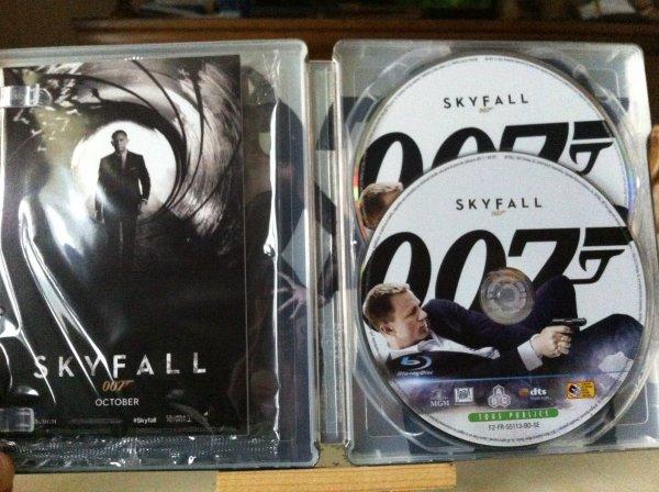 Skyfall Edition Limitée (steelbook)