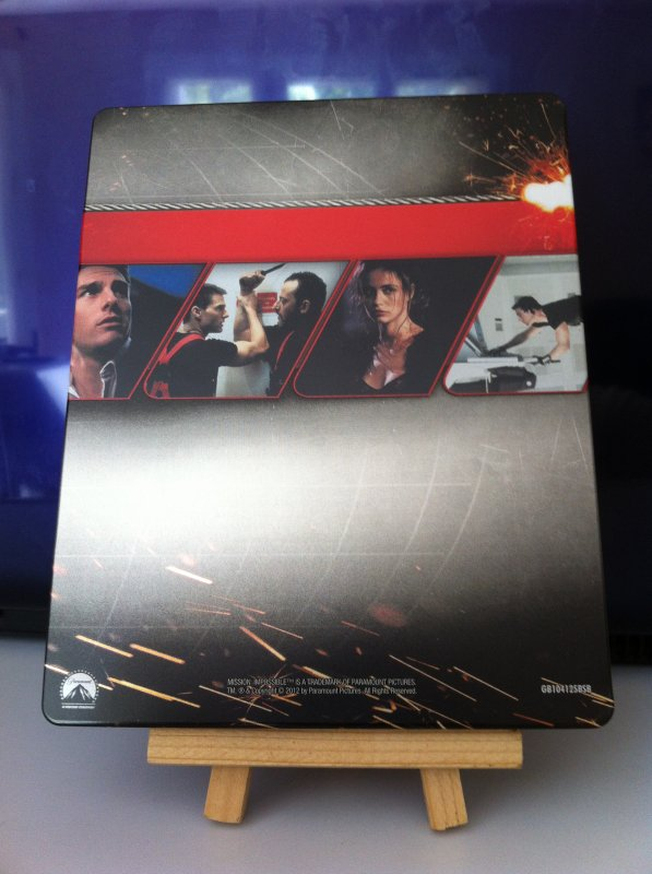 Mission Impossible (steelbook)