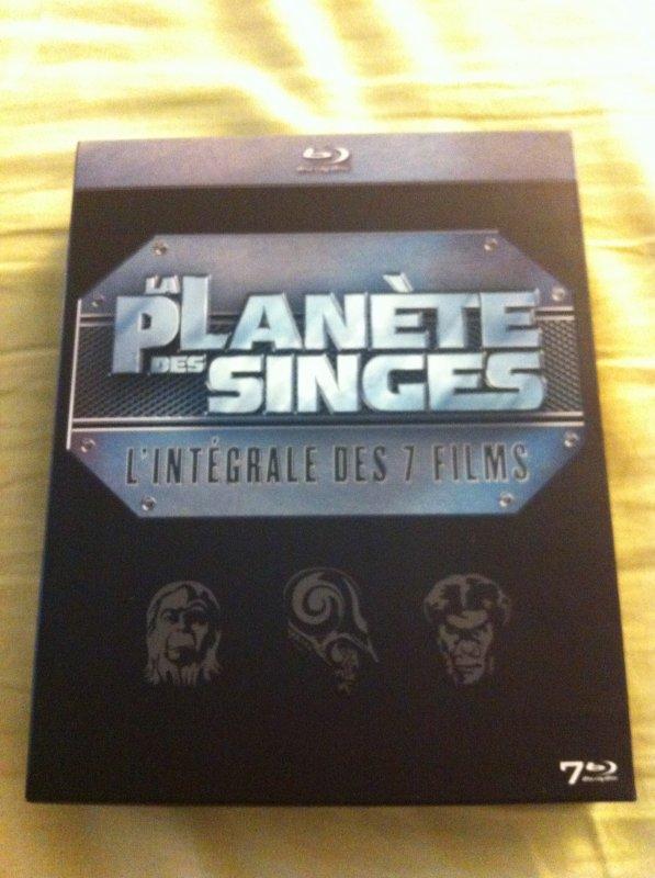 La Planète Des Singes (L'Intégrale Des 7 Films)