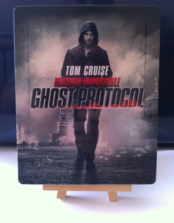 Mission Impossible : Ghost Protocol (steelbook)