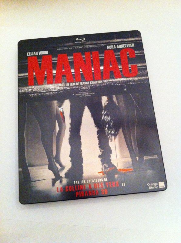 Maniac (steelbook)