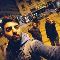 with my friends in Tanger Maroc