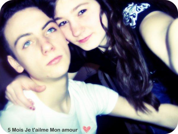 5 Mois je t'aime Bébouh ♥