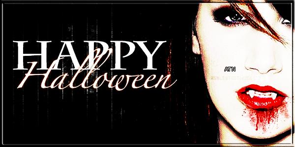 Happy Halloween Guys !