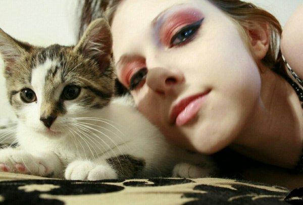 Moi et ma chatounette...